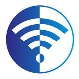 Логос WiFi Стоковое Изображение