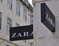 Логос Zara Стоковые Изображения RF