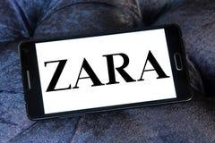 Логос Zara Стоковые Изображения