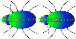 Логотипы жуков клуба жука Стоковая Фотография