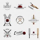 Логотипы и ярлыки значков сверчка для любых используют иллюстрация штока