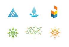 логотипы Стоковое Изображение