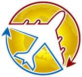 Логотип авиакомпании Стоковое Фото