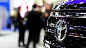 Логотип автомобиля Тойота видеоматериал