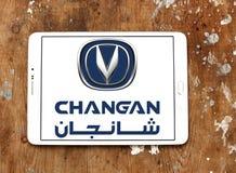 Логотип автомобиля Changan Стоковые Изображения RF