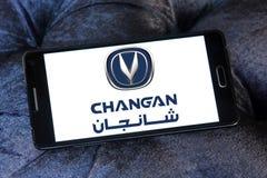 Логотип автомобиля Changan Стоковое фото RF