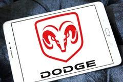 Логотип автомобиля доджа Стоковое Фото