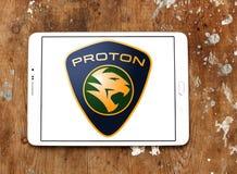 Логотип автомобиля протона Стоковые Фото
