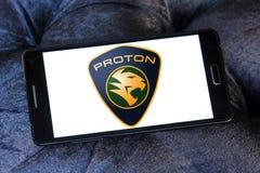 Логотип автомобиля протона Стоковые Фотографии RF