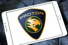 Логотип автомобиля протона Стоковые Изображения RF