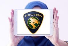 Логотип автомобиля протона Стоковое Изображение