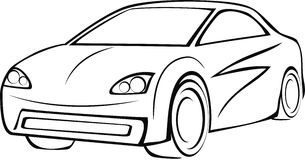 Логотип автомобиля Стоковая Фотография