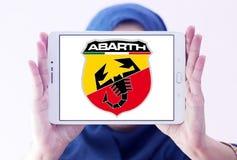 Логотип автомобиля Abarth Стоковое фото RF