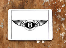 Логотип автомобиля Bentley Стоковое Изображение
