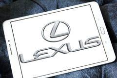 Логотип автомобиля Lexus Стоковое Фото