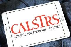 Логотип агенства CalSTRS стоковые фотографии rf