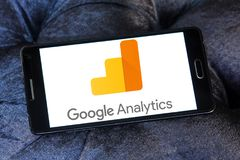 Логотип аналитика Google стоковые фото