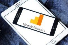 Логотип аналитика Google стоковое изображение