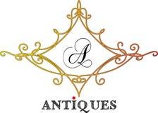 Логотип - антиквариаты 06 иллюстрация вектора