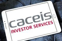Логотип банка CACEIS Стоковые Изображения RF