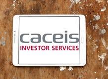Логотип банка CACEIS Стоковая Фотография RF