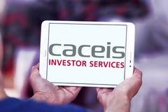 Логотип банка CACEIS Стоковая Фотография