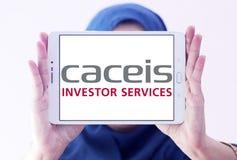 Логотип банка CACEIS Стоковое Фото