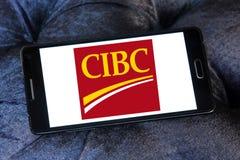 Логотип банка CIBC Стоковое Изображение RF