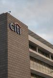 Логотип банка Citi на здании Стоковое Фото
