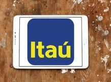 Логотип банка Itau Unibanco Стоковые Фотографии RF