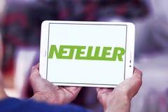 Логотип банка Neteller электронный Стоковое Изображение RF