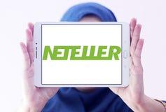 Логотип банка Neteller электронный Стоковое Изображение
