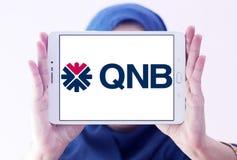 Логотип банка QNB Стоковая Фотография RF