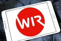 Логотип банка WIR Стоковые Изображения RF