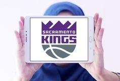 Логотип баскетбольной команды королей Сакраменто Стоковое Изображение RF