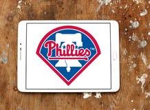 Логотип бейсбольной команды Филадельфии Phillies стоковое фото