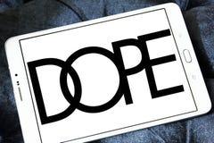 Логотип бренда допинга Стоковые Фотографии RF