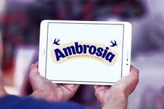 Логотип бренда еды амброзии Стоковая Фотография