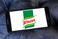 Логотип бренда еды Knorr Стоковое Фото