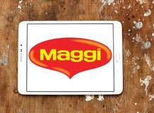 Логотип бренда еды Maggi Стоковые Фотографии RF