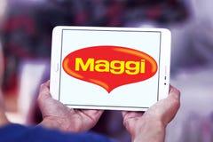 Логотип бренда еды Maggi Стоковые Изображения RF