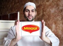 Логотип бренда еды Maggi Стоковые Изображения