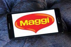 Логотип бренда еды Maggi Стоковая Фотография