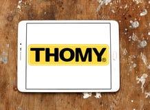 Логотип бренда еды Thomy Стоковое Изображение RF