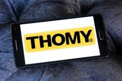 Логотип бренда еды Thomy Стоковое Изображение