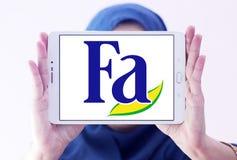 Логотип бренда Fa Стоковые Изображения