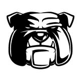 Логотип бульдога головной Стоковое Фото