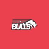 Логотип быков Стоковые Изображения RF