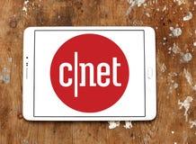 Логотип вебсайта средств массовой информации CNET Стоковые Фото