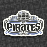 Логотип вектора для пиратов бесплатная иллюстрация